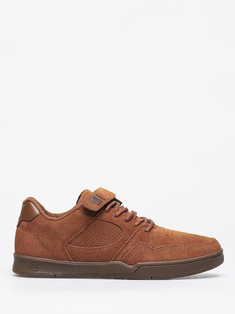 Topánky Es Accel Slim Plus (brown/gum)