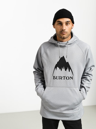 Mikina s kapucu0148ou Burton Crown Bndd HD (gray heather)