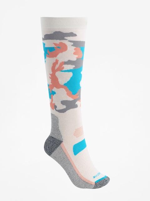 Ponožky Burton Performance Ultralight Wmn (camo)