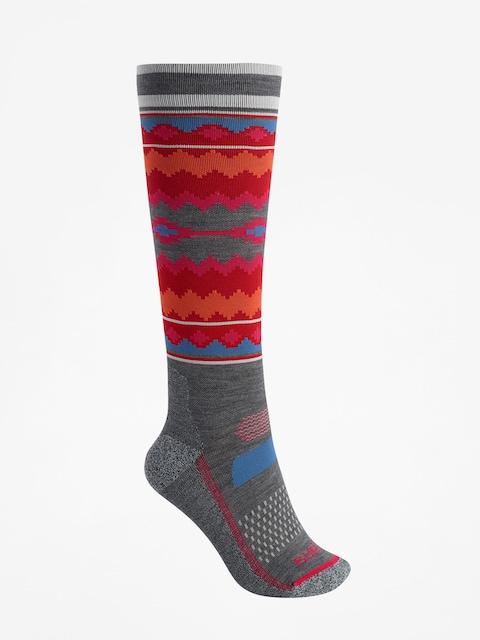 Ponožky Burton Performance Ultralight Wmn (gray heather)