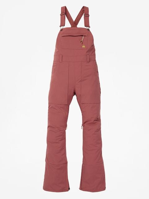 Snowboardové nohavice Burton Avalon Bish Wmn (rose brown)
