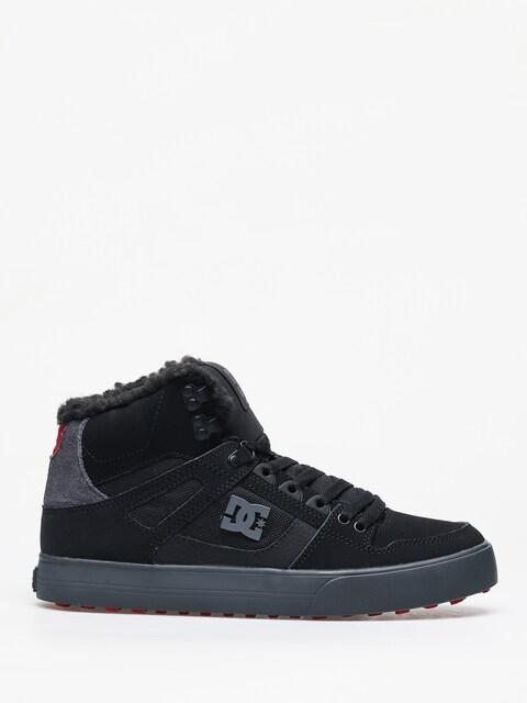 Zimné topánky DC Pure Ht Wc Wnt (black/grey/red)