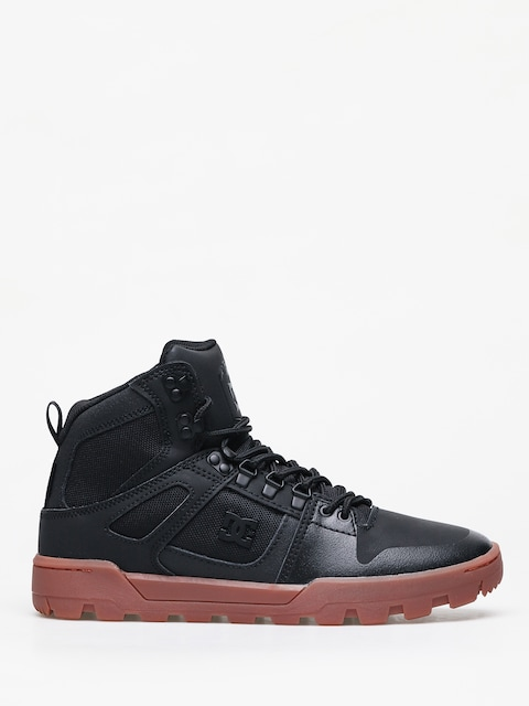 Zimné topánky DC Pure Ht Wr (black/gum)