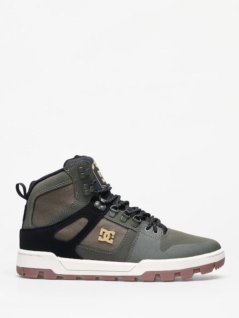 Zimné topánky DC Pure Ht Wr (olive/black)