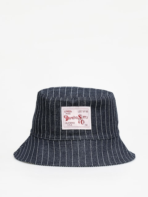 Klobúk Diamond Supply Co. Woodland Striped Bucket (navy)