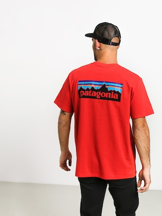 Tričko Patagonia Logo Responsibili (fire)