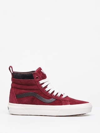 Topu00e1nky Vans Sk8 Hi Mte (biking red/charcoal)