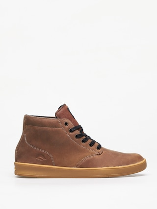 Topu00e1nky Emerica Romero Laced High (brown/black/gum)