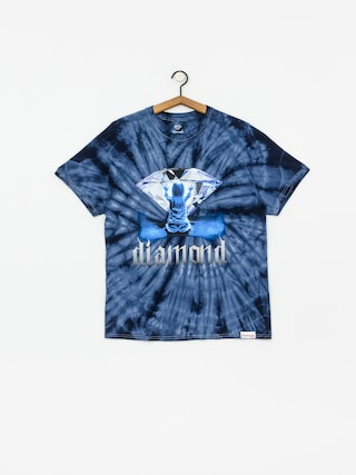 Tričko Diamond Supply Co. Apparition Tie Dye (blue)