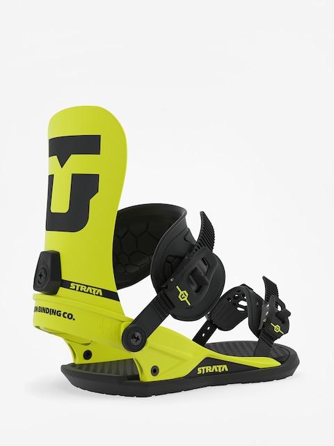 Snowboardové viazanie Union Strata (hazard yellow)