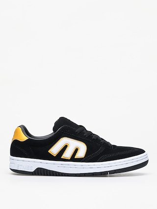 Topu00e1nky Etnies Lo Cut (black/white/yellow)