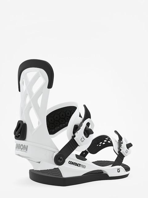 Snowboardové viazanie Union Contact Pro (white)