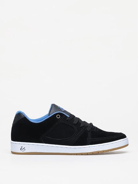 Topánky Es Accel Slim (black/white/royal)