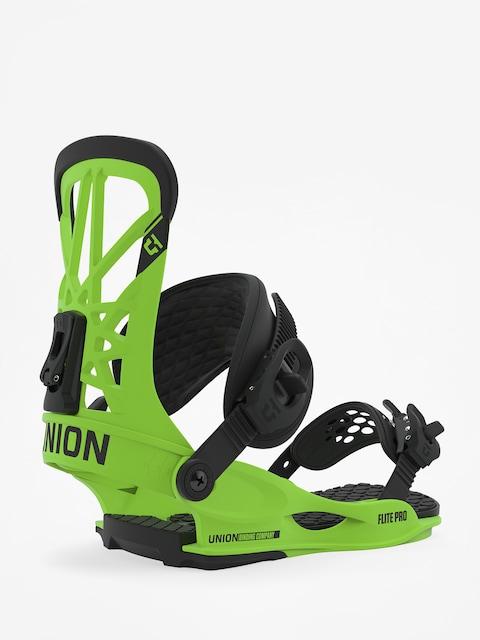 Snowboardové viazanie Union Flite Pro (acid green)