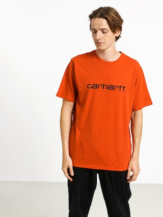 Triu010dko Carhartt WIP Script (brick orange/black)