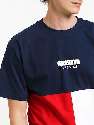 Tričko MassDnm Capital (navy)