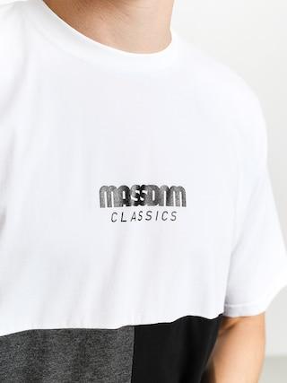 Tričko MassDnm Capital (white)