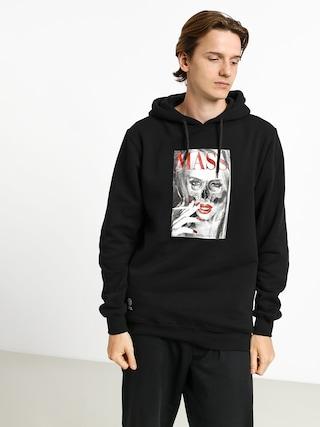 Mikina s kapucňou MassDnm Deadly Look HD (black)