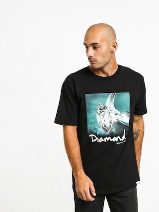 Tričko Diamond Supply Co. Shimmer (black)