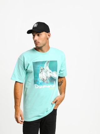 Tričko Diamond Supply Co. Shimmer (diamond blue)