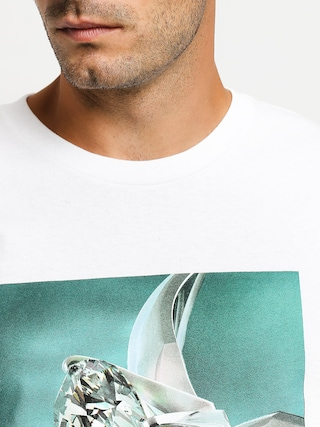 Tričko Diamond Supply Co. Shimmer (white)