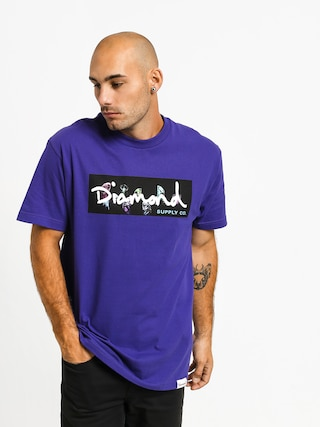 Triu010dko Diamond Supply Co. Color Box Logo (purple)