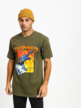 Triu010dko Diamond Supply Co. Greed (military green)