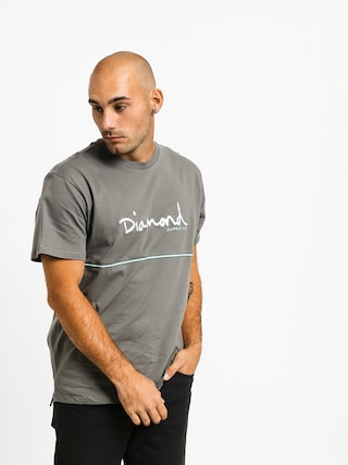 Tričko Diamond Supply Co. Hard Cut (grey)