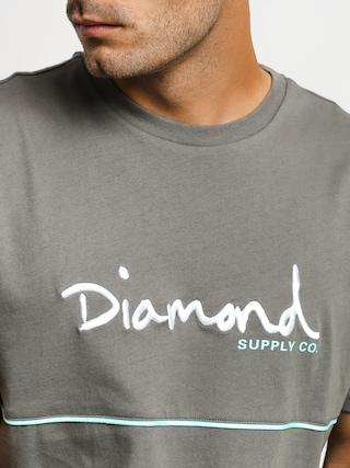 Tričko Diamond Supply Co. Hard Cut (grey)