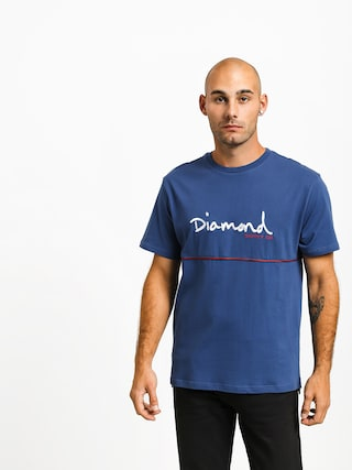 Tričko Diamond Supply Co. Hard Cut (navy)