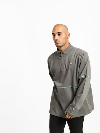 Mikina s kapucu0148ou Diamond Supply Co. Hard Cut (grey)