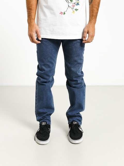 Nohavice MassDnm Classics Jeans Straight Fit (blue)