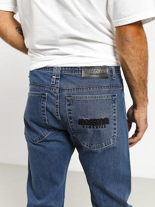 Nohavice MassDnm Classics Jeans Straight Fit (blue)