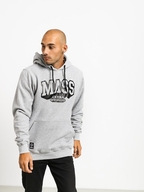 Mikina s kapucňou MassDnm Hassle HD (light heather grey)