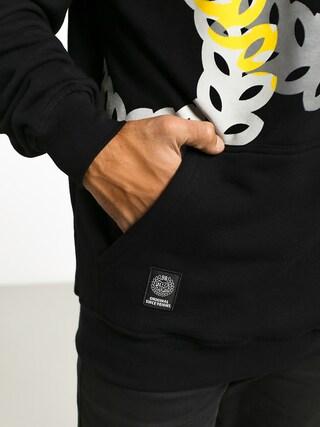Mikina s kapucňou MassDnm Jam HD (black)