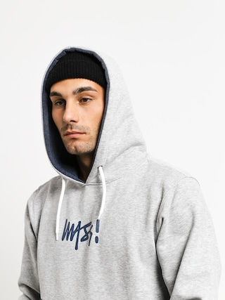 Mikina s kapucňou MassDnm Result HD (light heather grey)