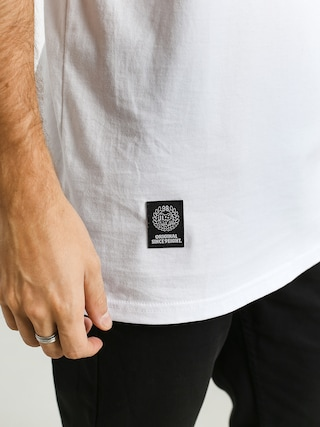 Tričko MassDnm Base Small Logo (white)