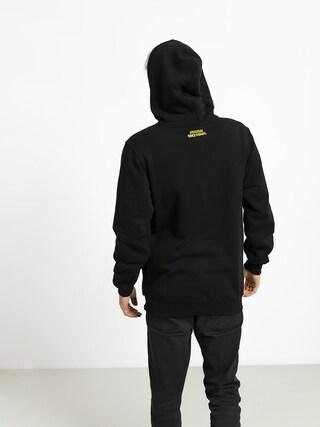 Mikina s kapucňou MassDnm Lord Pac HD (black)