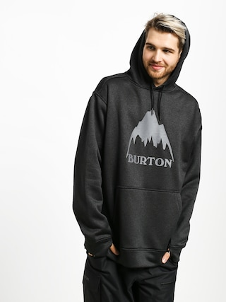 Mikina s kapucu0148ou Burton Oak HD (mtn true blk htr)