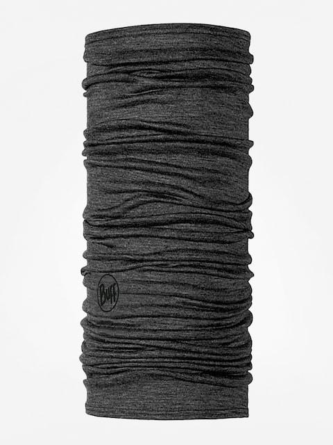 Šatka Buff Lightweight Merino Wool (solid grey)
