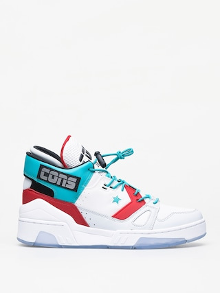 Topu00e1nky Converse Erx 260 Mid (white/turbo green/enamel red)