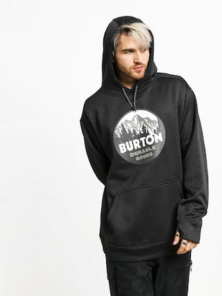 Mikina s kapucu0148ou Burton Oak HD (true black heather)
