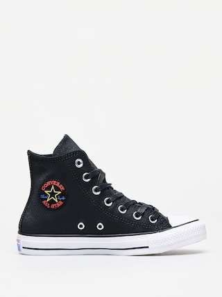Tenisky Converse Chuck Taylor All Star Hi Retrograde Wmn (black/habanero red/white)