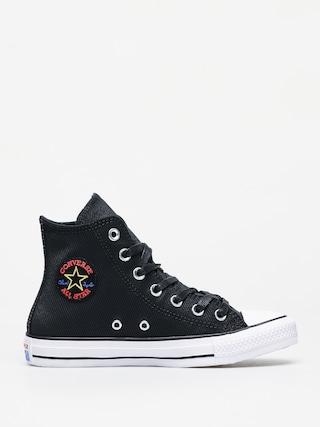 Tenisky Converse Chuck Taylor All Star Hi Retrograde Wmn (black/habanero red/white)