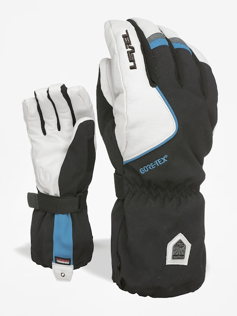 Rukavice Level Heli Gore Tex (black white)