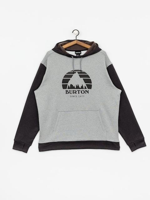 Mikina s kapucňou Burton Oak HD (gryhtr/trublk)