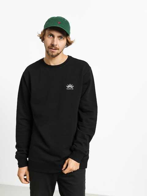 Mikina Volcom Supply Stone Crew (black)