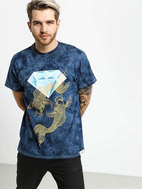 Tričko Diamond Supply Co. Pond Crystal Wash (navy)