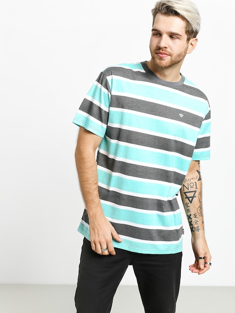 Tričko Diamond Supply Co. Hard Cut Striped