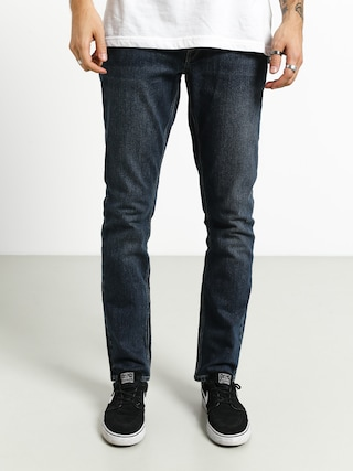Nohavice Volcom Vorta Denim (medium blue wash)